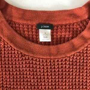 J. Crew Sweaters - J.Crew Burnt Orange Knit Sweater